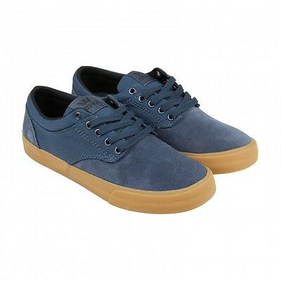 Supra Mens Skate Shoe - Chino (Navy- Gum)