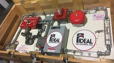 Commercial Kitchen Fire Suppression System - Ideal OEM, GE Control