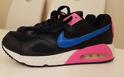 1aeecc73bd New Nike Air Max 90 Girls Uk Size 5 Womens Pink & Blue Trainers Shoes