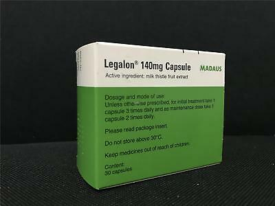 Legalon 140MG Capsule 60 Liver Support Protection health, Clean Detox Supplement