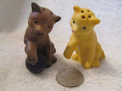 Vintage Kitty/cat Salt And Pepper Shakers