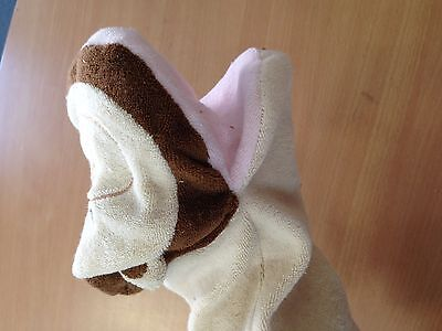 3 baby bath mittens, assorted animals hand puppets @$10 each