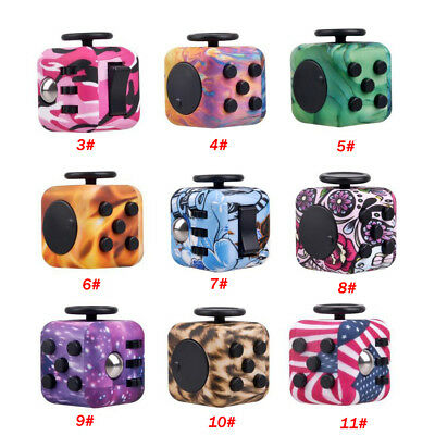 Fidget Hand Spinner Puzzle Cube Anti-anxiety Adults Stress Relief For Kids Toy