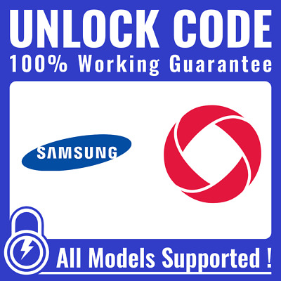 Phone Unlock CODE for Rogers Fido Chatr - Samsung Galaxy S2 S3 S4 S5 S6 S7 S8