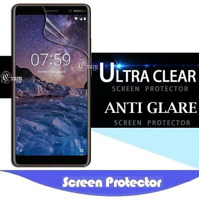 Clear & Matte Screen Protector Guard Film For Nokia 3.1 5 6.1 7.1 7 Plus 8 8.1