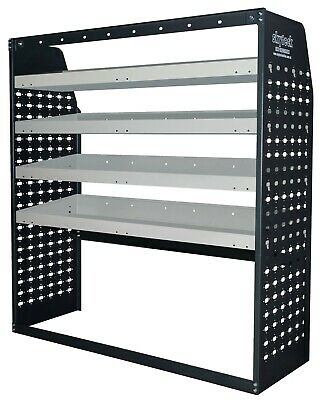 Van shelving Guard 4 Shelf Trays Steel  Storage 108cm*43cm*117cm B4-VS004