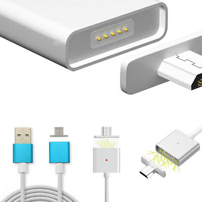 Magnetic 2.4 A Micro USB Charging Cable Adapter Charger For Samsung LG Android