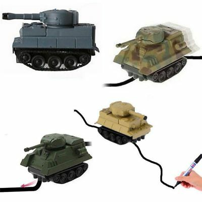 Magic Pen Inductive Car Follow Any Draw Line Kids Toy Inductive Truck Bus Gift