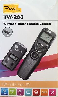 Pixel TW-283/S2 LCD Wireless Shutter Release Timer Remote Control for Sony A7