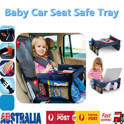 Baby Car Safety Seat Lap Tray Portable Table Snack Kid Travel Play Pushchair AU