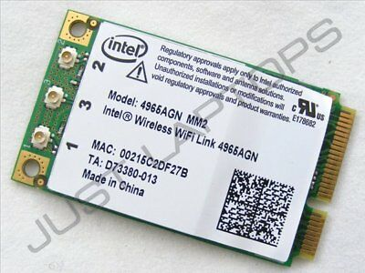 Intel Wireless WiFi Link 4965AGN Mini PCIe Card HP Pavilion 6000 441082-002