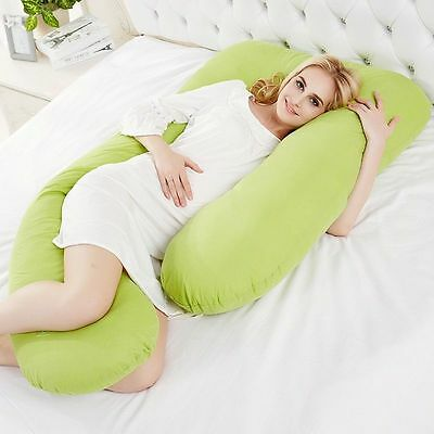 U Shape Oversized Comfort Body full support Pregnancy Maternity Pillow Case Cove