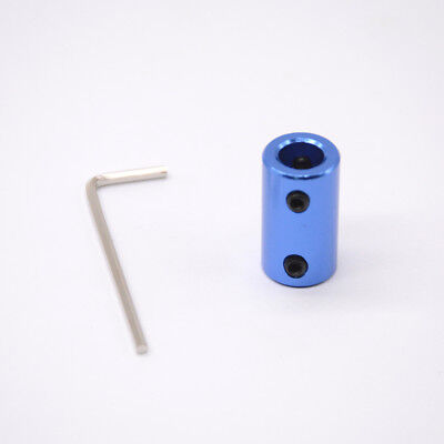 5pcs accessory Blue Aluminium alloy coupling 5mm x 8mm shaft coupler