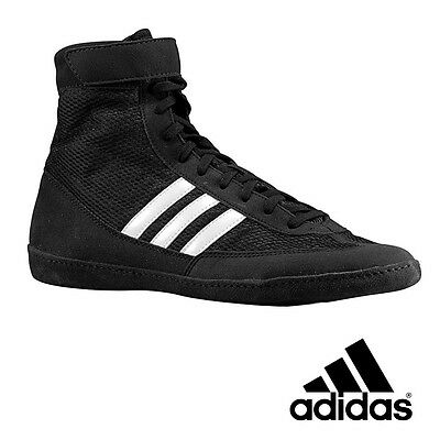 adidas Wrestling Shoes (boots) Combat Speed 4 Ringerschuhe Black MMA Boxing