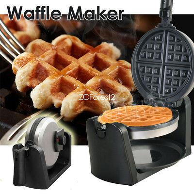 Waffle Maker Stainless Non-stick Plate Temperature Controller 1000WKitchen