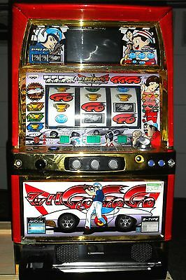 Quarter/token Pachislo Speed Racer Slot Machine / 200 Tokens / 285 Page Manual
