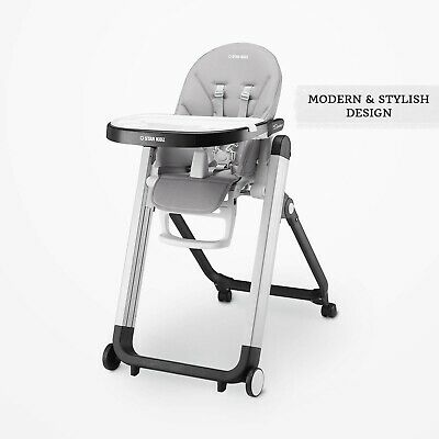 Star Kidz Bimberi Deluxe High Chair - Grey