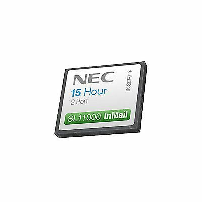 NEC-1100112 BE110731 CF 2 Ports/15 Hours Voice Mail