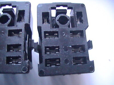 100 pieces, 8 pin  RELAY BASE SOCKET HOLDER FOR LY2NJ, HH62P, JQX-13F, UK SELLER