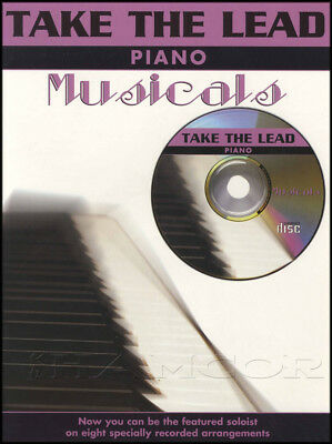 Take The Lead Piano Musicals Sheet Music Book with CD Wizard of Oz Oliver Annie