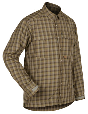 Paramo Katmai LS Shirt Mens: Broadleaf Check: XLarge
