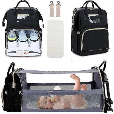 Ergo Queen Mummy Maternity Nappy Diaper Bag Large Capacity Baby Travel Backpack
