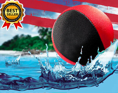 Waboba Water Bouncing Skim Ball Sea Colors Swim Bouncer Pool Toy Extreme Xmas !!