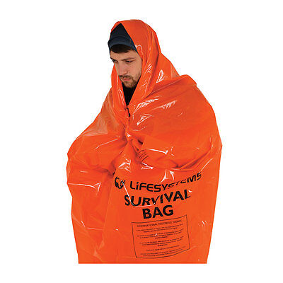 Lifesystems Survival Bag - Duke of Edinburgh Recommended - Lightweight & Durable