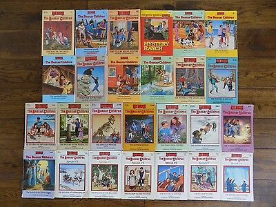 Lot 26 The Boxcar Children Series Chapter Books by Gertrude Chandler Warner