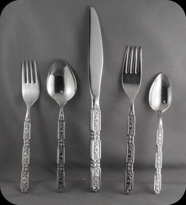 Oneida Stainless Raphael 5 Piece Place Setting (Two Available)
