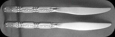 Oneida Stainless Raphael Dinner Knives TWO (Two sets of two available)
