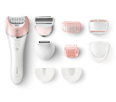Philips Bre640 Epilatore Wet&dry 32Pinze 8 Accessori Bianco Rosa