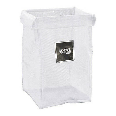 X-Frame Bag,6 Bushel,White Mesh ROYAL BASKET TRUCK G06-WWX-XMN