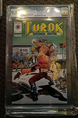 Turok Dinosaur Hunter 6 CGC 9.8 1993 Mint Valiant Comics 1st Print Original V1