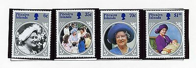 PITCAIRN ISLAND   MNH   253-57   Queen Mother 85th Birthday     FT926