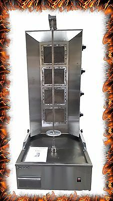 NEW COMMERCIAL GAS 4 BURNER DONNER KEBAB MACHINE Gas DONER MACHINE