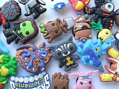 SHOE CHARMS (Q) - SPACE - inspired by OCTONAUTS, SKYLANDERS & GUARDIANS