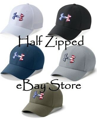 3112ac583fa Under Armour Freedom Blitzing Cap Fitted Baseball Hat 1311427 - 5 COLORS!