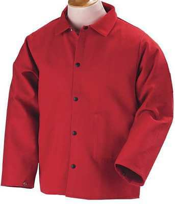 Flame Resistant Jacket, Red, Cotton, XL BLACK STALLION FR9-30C