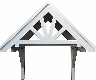 Front Door Canopy Roof - Wooden Bespoke Porch - Timber Awning Shelter Cover