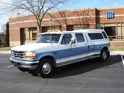 1995 Ford F-350 XLT 1995 Ford F-350 2WD, 7.3L Diesel, Crew Cab, Long Bed, Dually