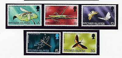 PITCAIRN ISLAND   MNH   151-55   Insects      FT935
