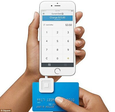 Square Credit Card and Debit Card Reader for iPhone and Android Compatible