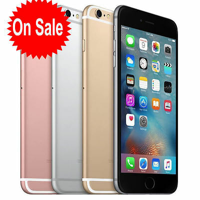 APPLE IPHONE 6S 16GB 64GB 128GB UNLOCKED Space Grey Silver Gold Rose Gold AU+