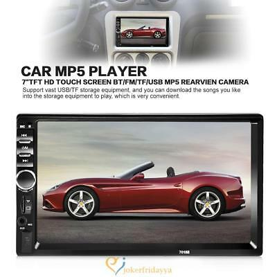 """2DIN 7"""" HD In Dash Car TouchScreen Bluetooth Android USB FM Radio Stereo MP3 MP5"""