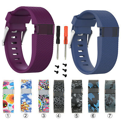 Classic Printed Replacement Band Strap Wristband Bracelet for Fitbit Charge HR
