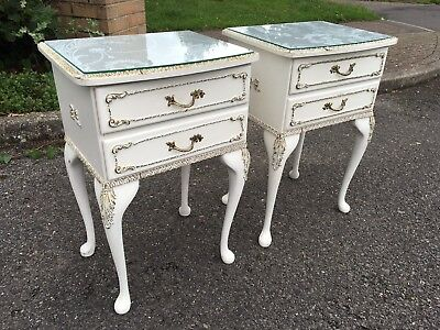 Pair Of French Louis Style Bedside Cabinets