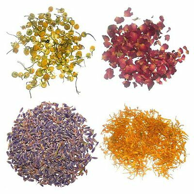 Dried Flowers (Lavender, Rose, Marigold, Chamomile etc.) (Offer 4 for 3)