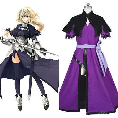 Fate/Apocrypha FA Ruler Joan of Arc/Jeanne Dress Cosplay Costume Suit Outfit