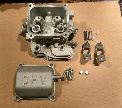 Predator Harbor Freight 60363 milled .075 Hemi 212cc PARTS - CYLINDER HEAD